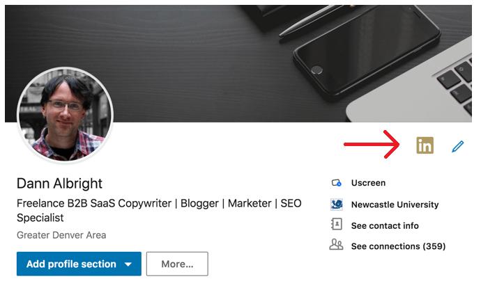 LinkedIn Premium Badge